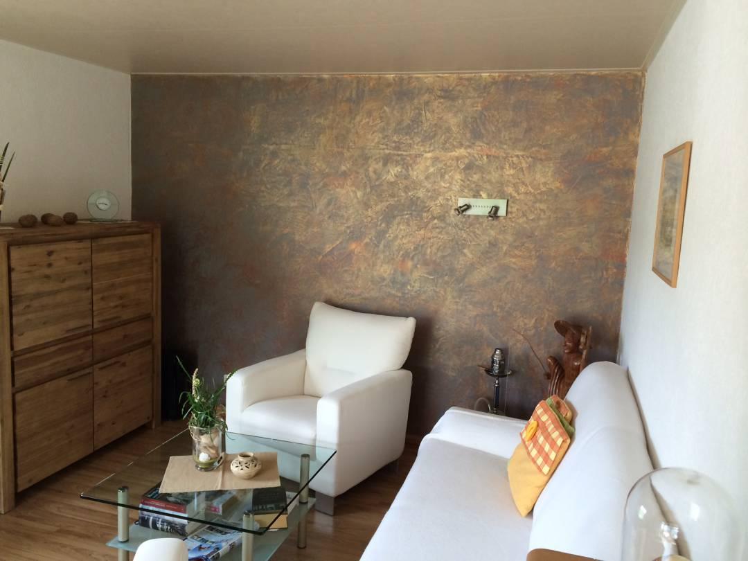 Referenzen malermeister mario uhlig fassaden innenraumgestaltung und design konzepte - Wandgestaltung spachteltechnik ...