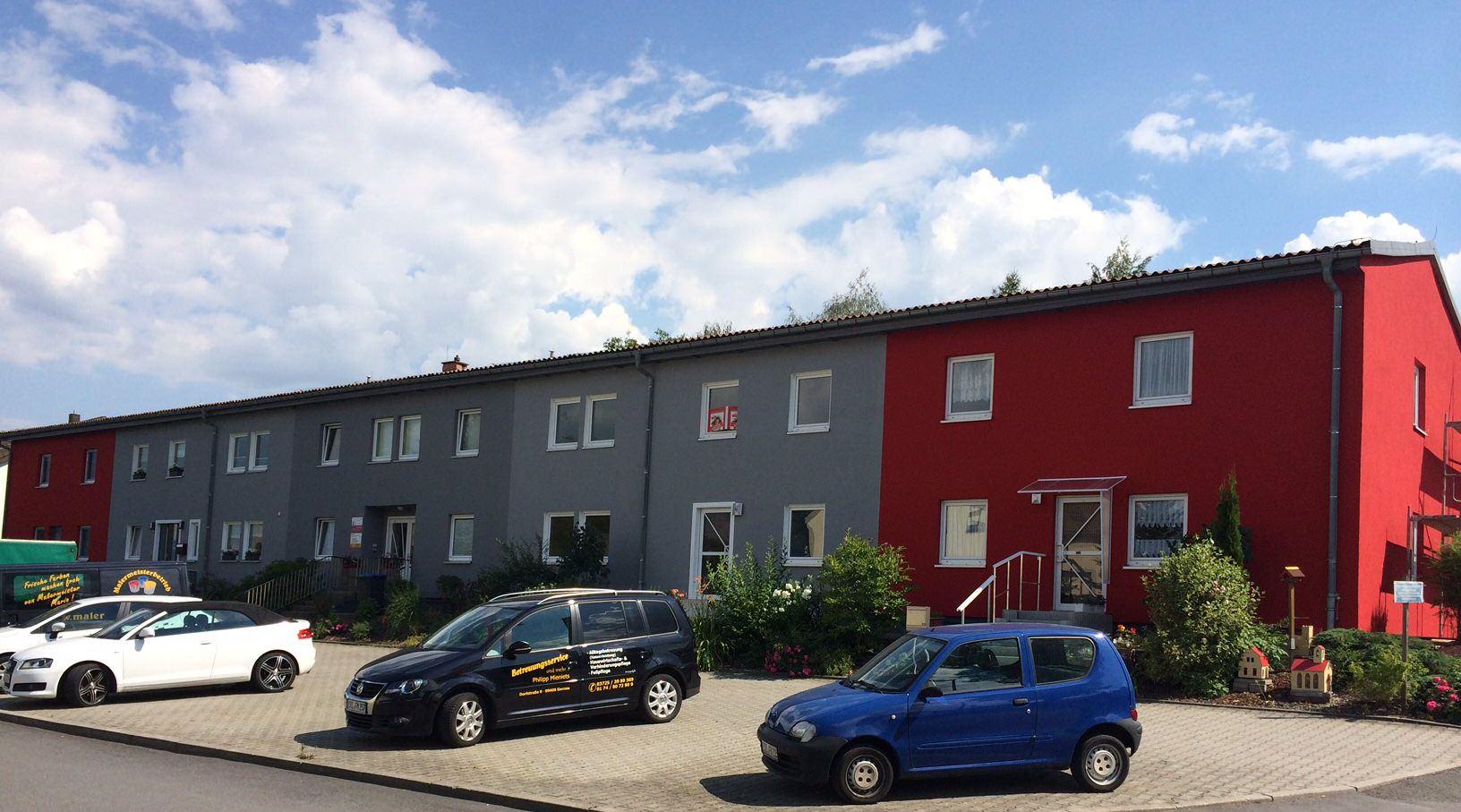 Fassadenbeschichtung mit Evocryl